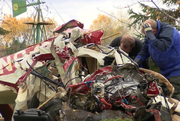 Picture for 2 Killed After Small Plane Crashes Next To Northwest Wisconsin Home