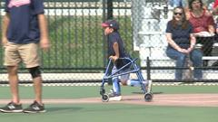 Cover for People with disability league opening day: 'I'm excited, we're gonna win!'