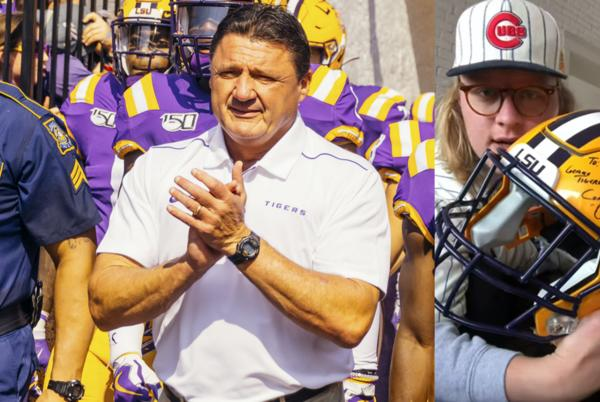 Picture for Q&A: Joey Mulinaro, star Coach O impersonator, on his unusual journey to die-hard LSU fandom