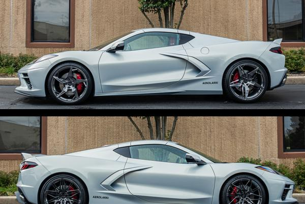 """Picture for C8 Corvette Tuner Comes Up With """"Two-Faced"""" Wheel Sets With A Different Design For Each Side"""