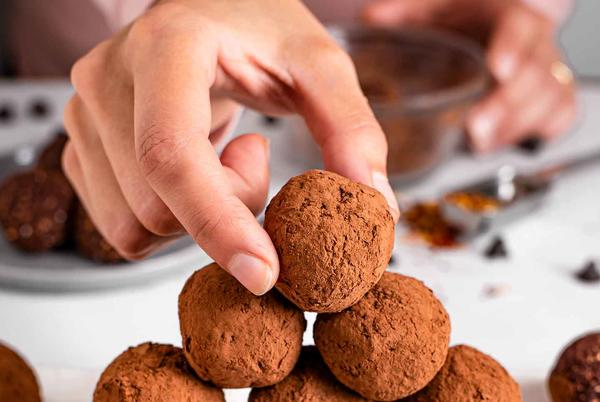 Picture for Spicy Dark Chocolate Chili Truffle Energy Balls