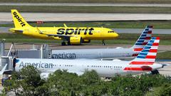 Cover for Spirit Airlines cancellations still rising Monday in 'perfect storm'