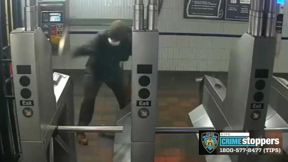 Picture for Wild video shows NYC serial subway vandal smashing OMNY sensors in Brooklyn