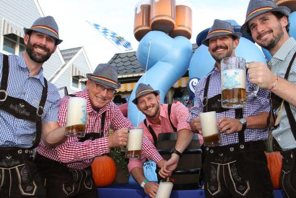 Picture for Morey's Piers Ceremonial Keg-Tapping At Oktoberfest on Mariners Landing.