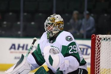 Picture for Jake Oettinger's 32 Saves Not Enough to Halt Iowa as Texas Stars Fall 2-0 in Opener