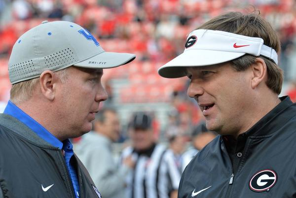 Picture for Kentucky coach to fan about late TD vs. UGA: 'Stupid question'