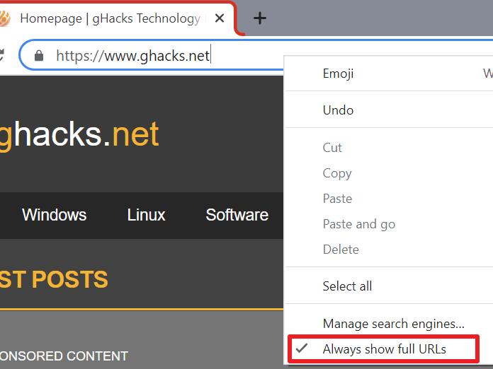 google-ends-simplified-url-experiment-in-chrome