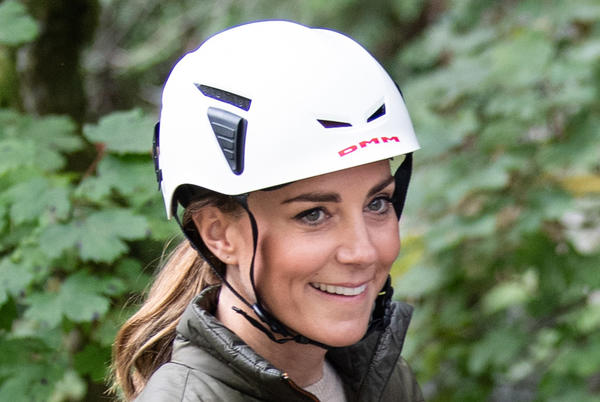 Picture for Kate Middleton Shows Off Her Adventurous Side in Skinny Jeans, Puffer Jacket & Combat Boots