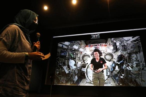 Picture for Seattle students virtually Zoom into space for a chat with astronaut Megan McArthur