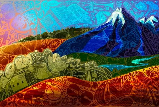 Picture for Latest Oregon license plate was designed by a Eugene artist