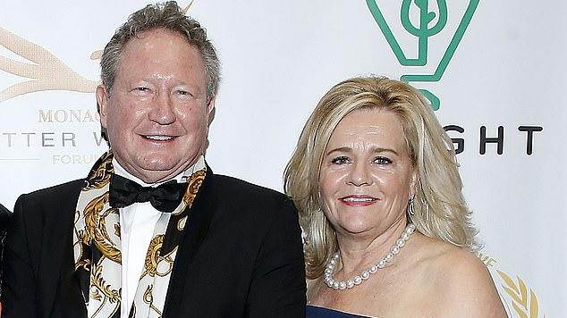 Picture for Mining magnate Andrew Forrest upgrades his 25-year-old plane to the world's most expensive private jet - worth $98million - after getting $1.6billion richer in just six months