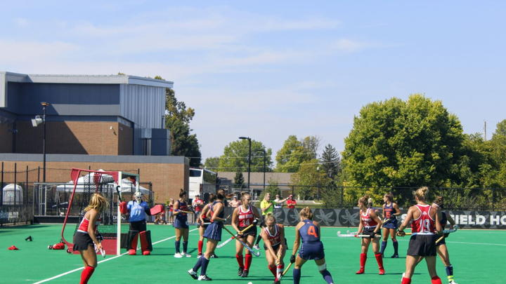 Cover for Field Hockey: No. 24 Ohio State splits pair of weekend games