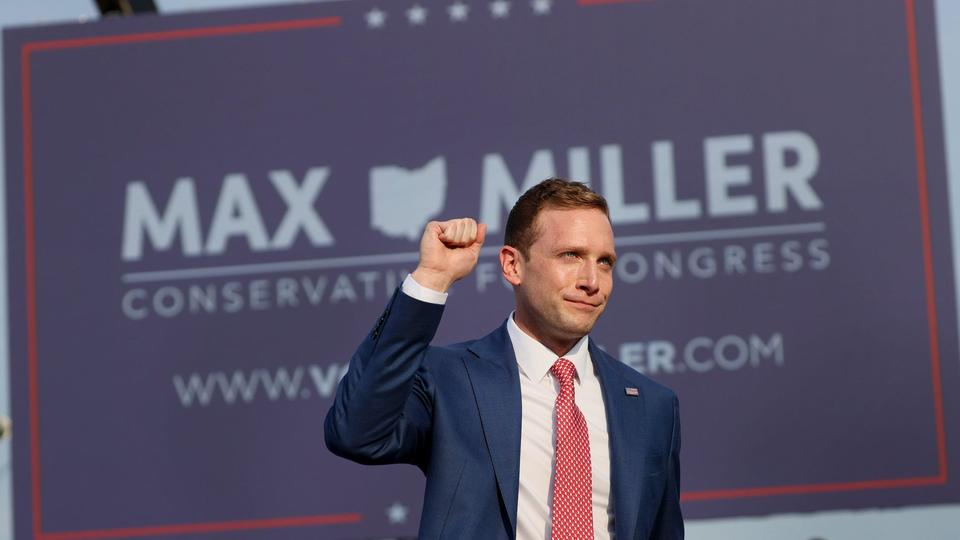 Picture for Trump-endorsed congressional candidate Max Miller denies assaulting former White House press secretary Stephanie Grisham following bombshell report about his troubled past