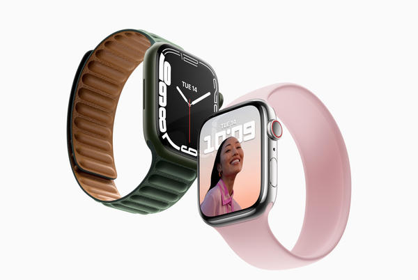 Picture for Apple reveals Apple Watch Series 7, featuring a larger, more advanced display