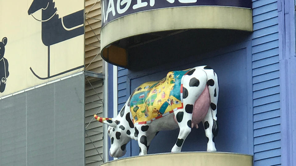 Picture for There's a Gift Shop Inside the Old Lyric Movie Theater, and It's Got Cows in It
