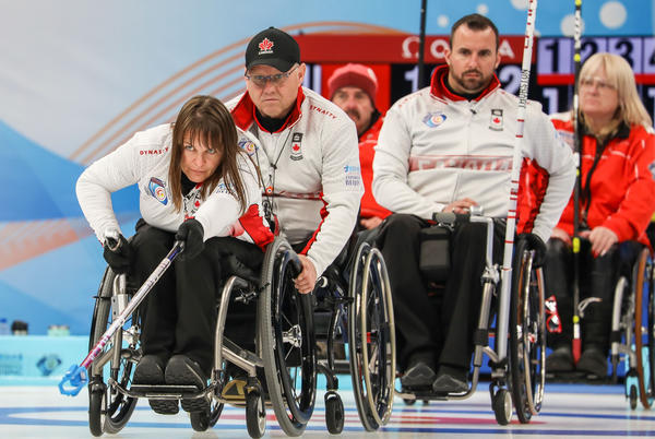 Picture for First win for Canada on day two's afternoon session in the Ice Cube