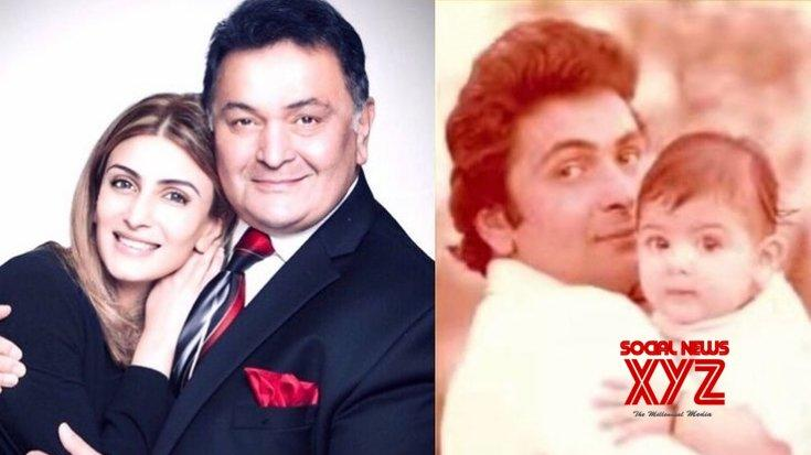 Picture for Riddhima on father Rishi Kapoor: I love you always
