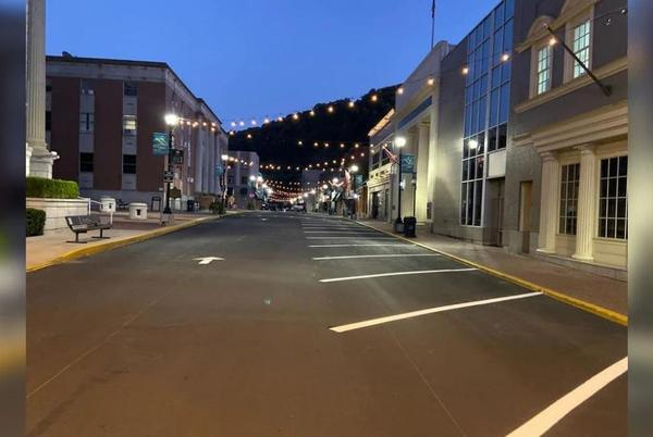 Picture for Changes made to Main Street in Hazard