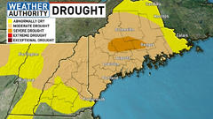 Cover for Central Maine now in severe drought
