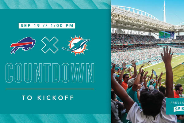 Picture for Countdown to Kickoff   Buffalo Bills vs. Miami Dolphins