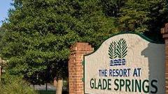Cover for Glade Springs hosting community yard sale