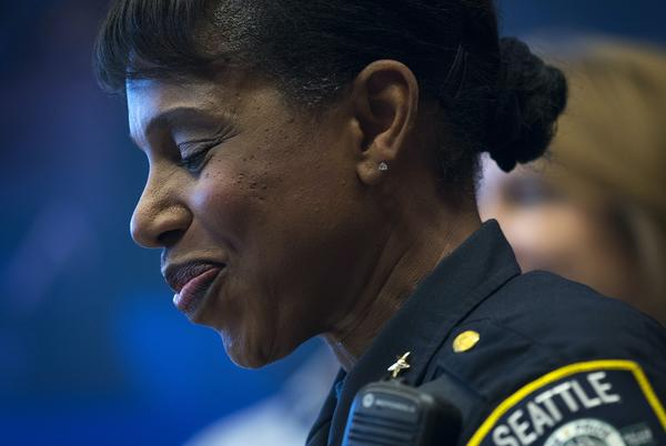 Picture for Carmen Best on life after Seattle PD: 'I am no longer a police officer. But I'm always a Black woman'