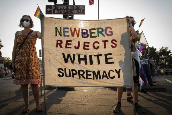 Picture for Oregon school board ban on anti-racist, LGBT signs draws ire