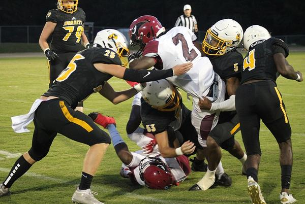 Picture for Harmony Grove Hornets dominate Dollarway Cardinals at home 45-6 to start 2021 conference play