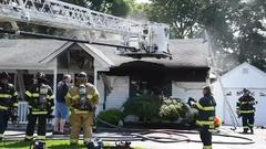 Cover for Woman killed in fast-moving house fire on Long Island identified