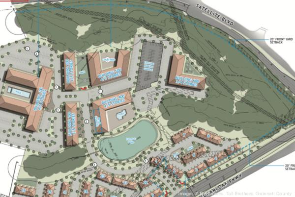 Picture for National developer plans 40-acre, mixed-use project in Duluth