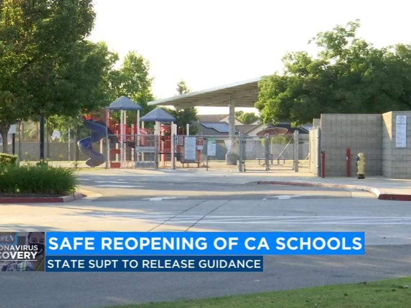 Reopening California: State Superintendent releases ...