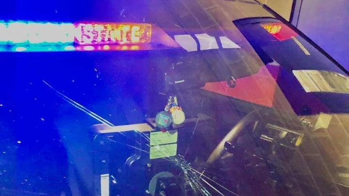 Cover for Woman arrested for drunk driving breaks trooper's windshield