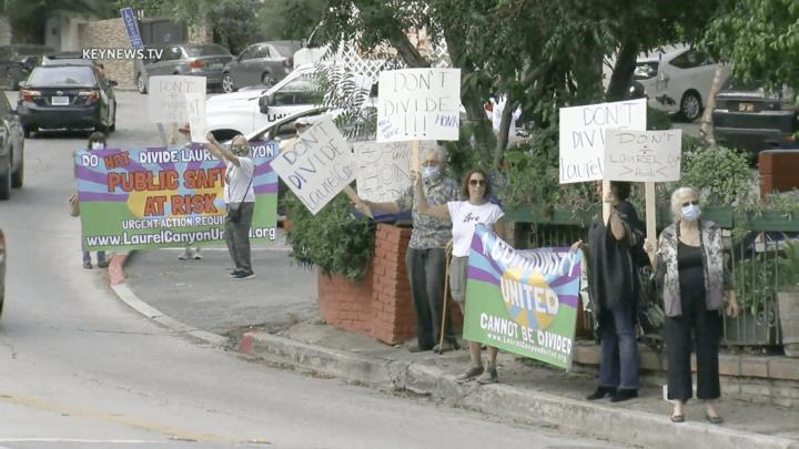 Cover for Residents Protest Proposed City Council Redistricting of Laurel Canyon in the Hollywood Hills