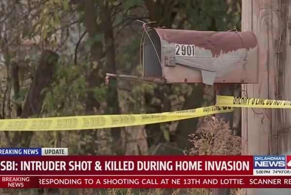 Picture for One arrested after burglar shot, killed by Oklahoma homeowner