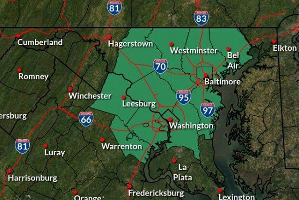 Picture for Flash Flood Watch issued for Baltimore metro area