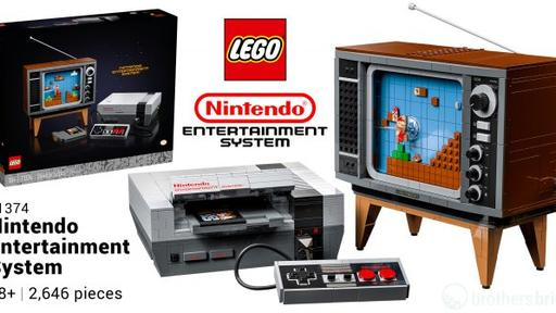 Lego 71374 Nintendo Entertainment System Is A Buildable Nes Console Complete With Super Mario Bros News News Break