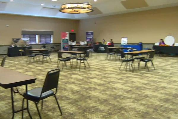 Picture for Low turnout at city wide job fair