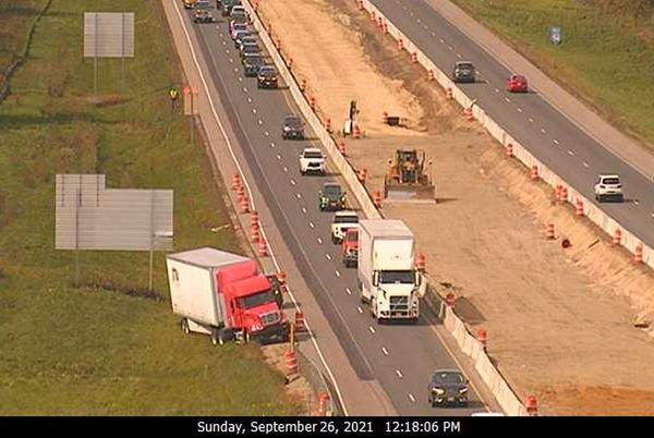 Picture for Crash on I-94 eastbound Sunday near Woodville delays traffic for over one hour