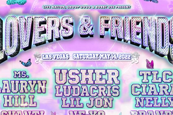 Picture for 'Lovers and Friends' Music festival featuring Usher, TLC, Ciara headed to Las Vegas