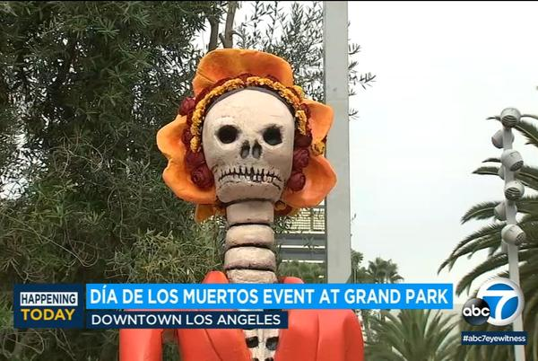 Picture for Día de los Muertos: 12-day public art installation kicks off at Grand Park in DTLA