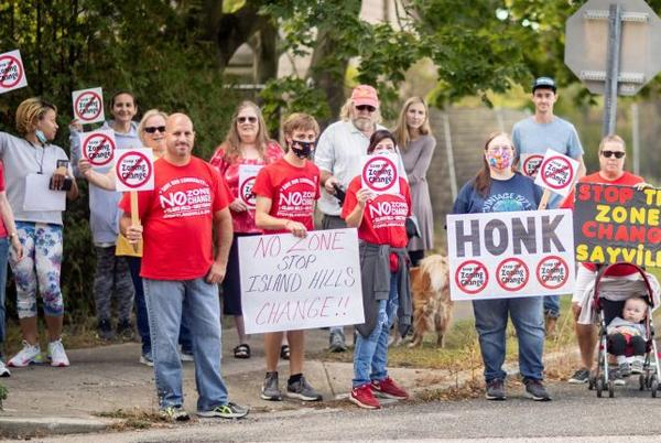 Picture for Sayville residents renew efforts to block proposed Greybarn apartments