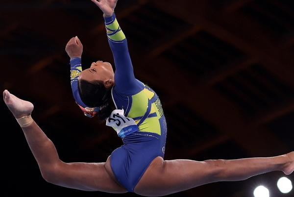 Picture for Rebeca Andrade Is The First Brazilian To Win An Olympic Medal In Women's Artistic Gymnastics