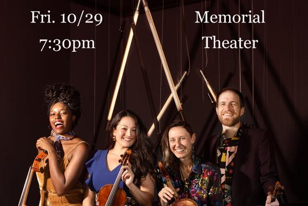 Picture for Thalea String Quartet to Perform at the Memorial Theater
