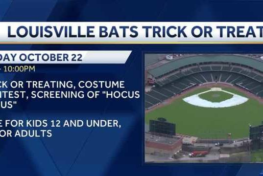 Picture for Louisville Bats host first 'Trick-or-Treat at the Ballpark' at Slugger Field