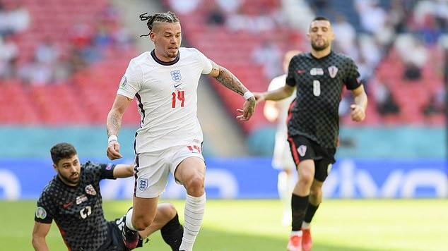 Picture for JAMIE REDKNAPP: Comfortable Kalvin Phillips proved the critics wrong and was easily man of the match for England against Croatia... the Leeds midfielder could become the unsung hero of Euro 2020
