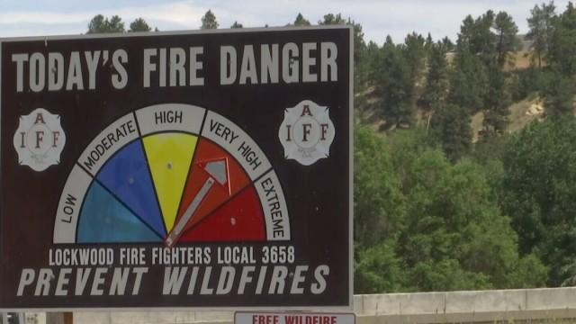 Picture for High fire danger: Why fireworks aren't a good idea this year in Yellowstone County