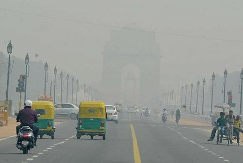 Picture for Delhi's air quality improves to 'moderate' category