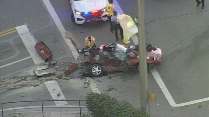 Cover for Miami Gardens traffic accident left one dead