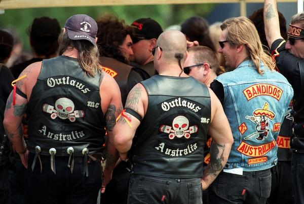 Picture for Cops Tell Biker Gangs to Wear Makeup as Harsh New Laws Ban Face Tattoos