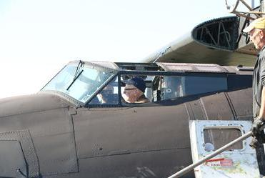 Picture for 99-year old WWII vet revisits the type of plane he trained in